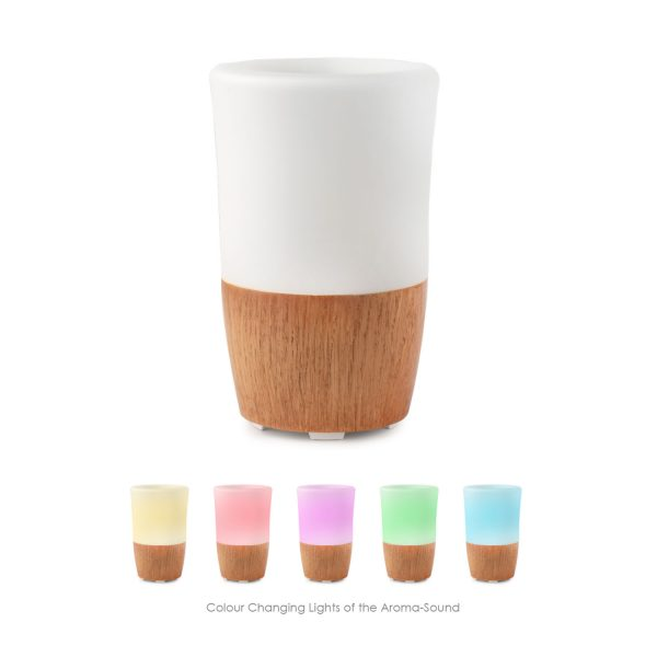 Aroma Sound Sleep Aid Humifier Essential Oil Diffuser Changing Colour