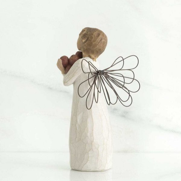 Angel of Good Health Willow Tree Figurine WT26123 Back View