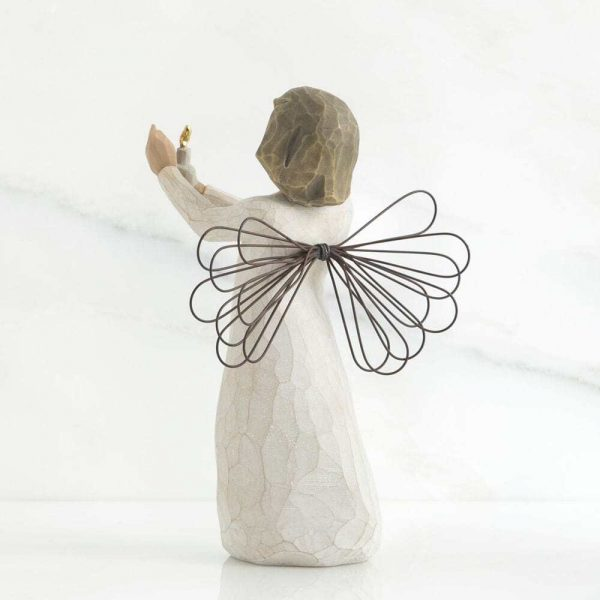 Angel of Hope Willow Tree Figurine WT26235 Back View