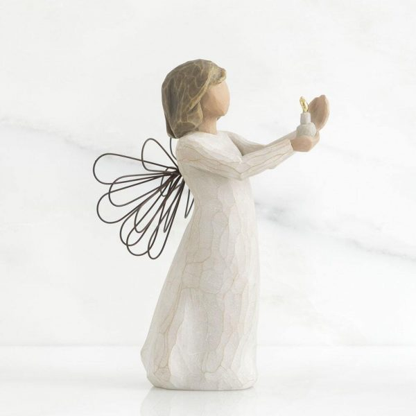 Angel of Hope Willow Tree Figurine WT26235 Left View