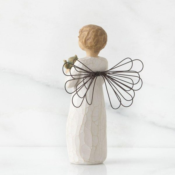 Angel of The Kitchen Willow Tree Figurine WT26144 Back View