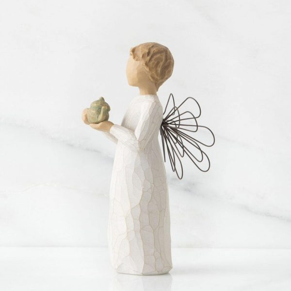 Angel of The Kitchen Willow Tree Figurine WT26144 Left View