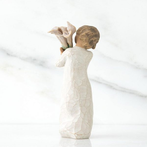 Beautiful Wishes Willow Tree Figurine WT26246 Back View