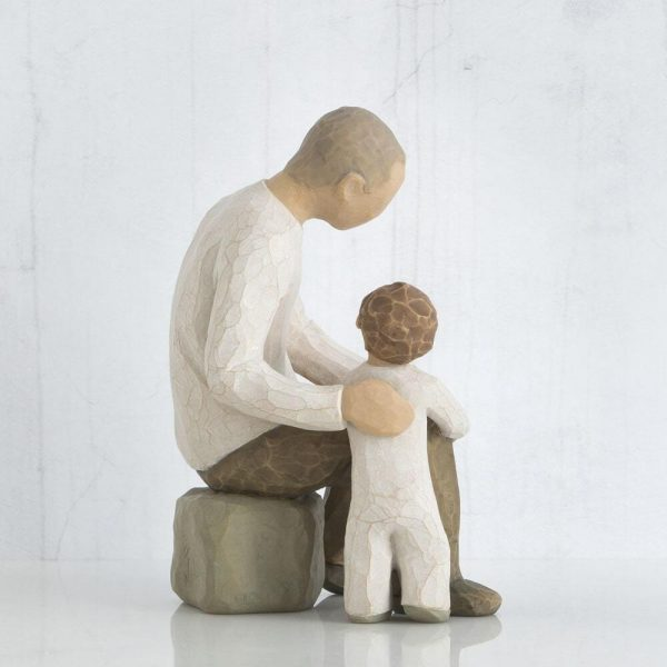 Grandfather Willow Tree Figurine WT26058 Left View