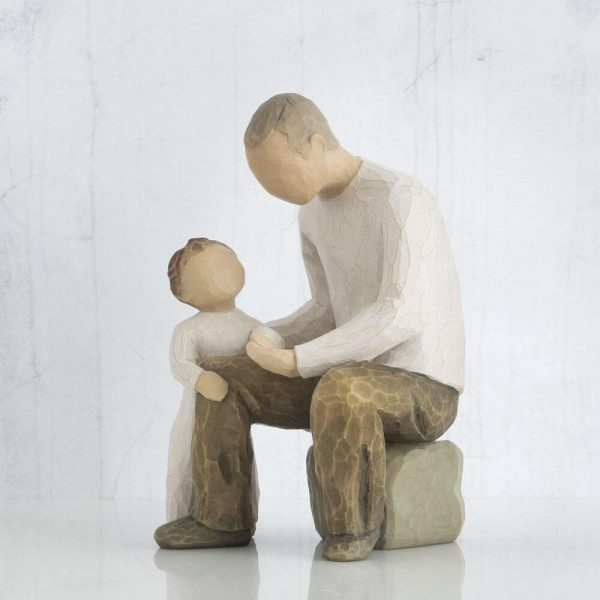 Grandfather Willow Tree Figurine WT26058 Right View