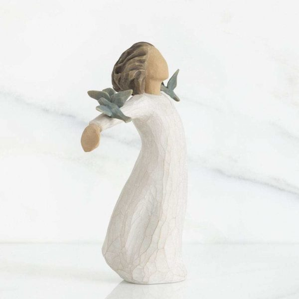 Happiness Willow Tree Figurine WT26130 Left View