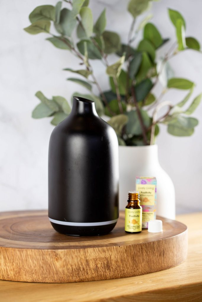 Lively Living Aroma Dune Black With Plant