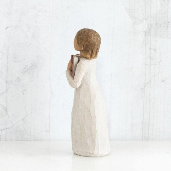 Love of Learning Willow Tree Figurine WW26165 Back View