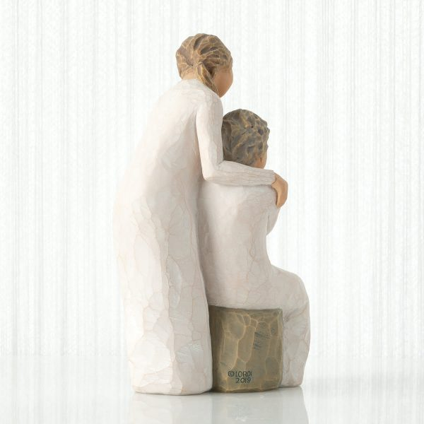 Loving My Mother Willow Tree Figurine WT27921 Left View