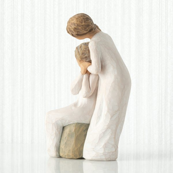 Loving My Mother Willow Tree Figurine WT27921 Right View