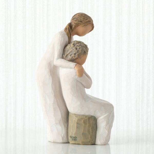 Loving My Mother Willow Tree Figurine WT27921 Side View