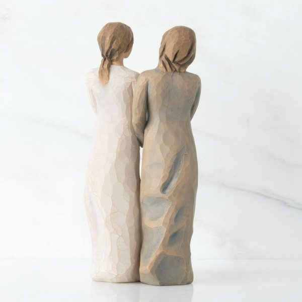 My Sister My Friend Willow Tree Figurine WT27095 Back View