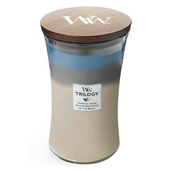 Nautical Escape Trilogy Woodwick Soy Candle WW93957