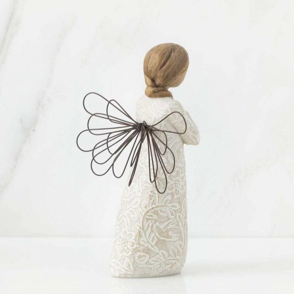 Remembrance Angel Willow Tree WT26247 Back View
