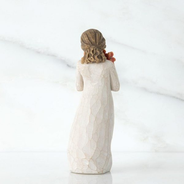 Surrounded by Love Willow Tree Figurine WT26233 Back View