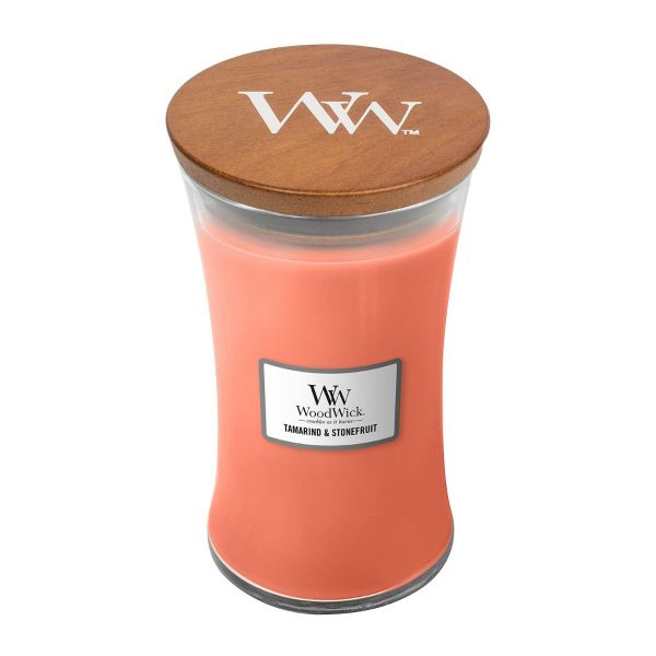Tamarind and Stonefruit Woodwick Soy Candle WW1647928