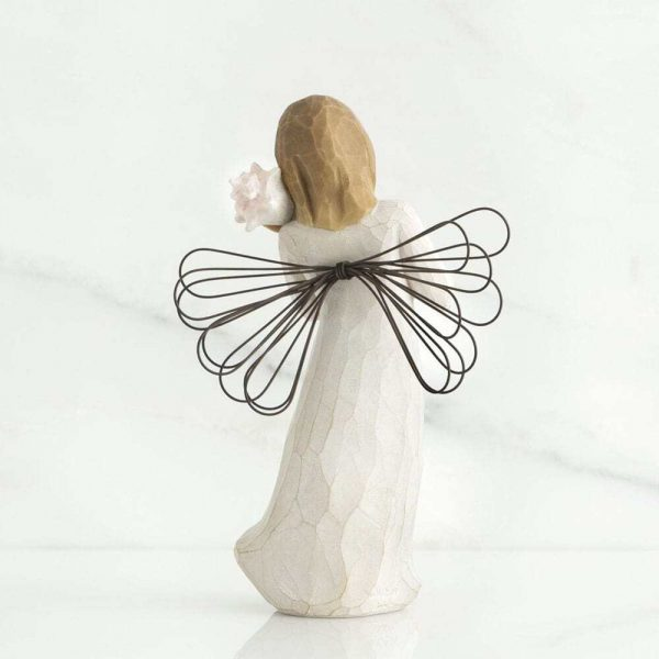 Thinking of You Angel Willow Tree Figurine WT26131 Back View