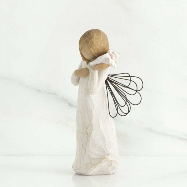 Thinking of You Angel Willow Tree Figurine WT26131 Right View