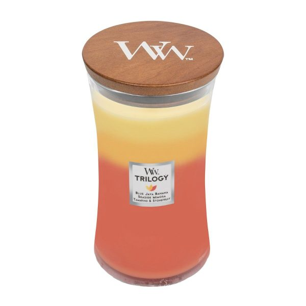 Tropical Sunrise Trilogy Woodwick Soy Candle WW1647930
