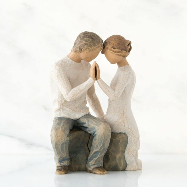 Willlow Tree Figurine Around You WT27182 Side View 1