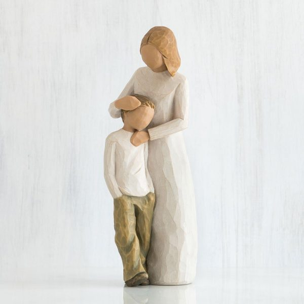 Willlow Tree Figurine Mother And Son WT26102