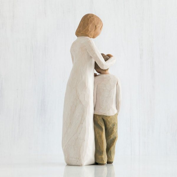 Willlow Tree Figurine Mother And Son WT26102 Back View