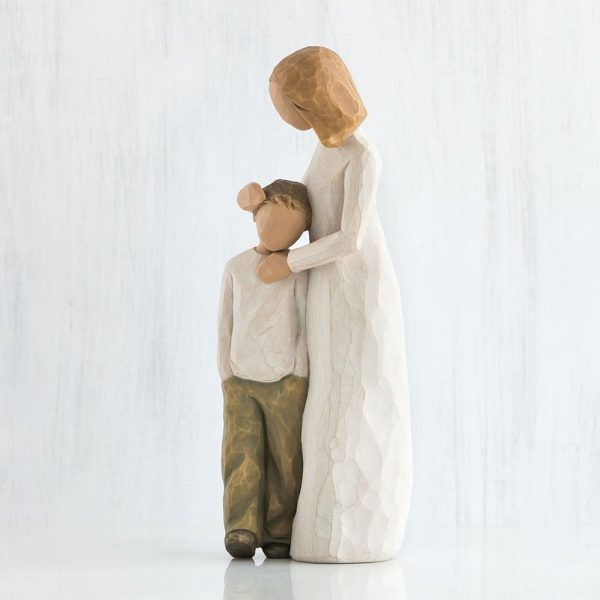 Willlow Tree Figurine Mother And Son WT26102 Side View