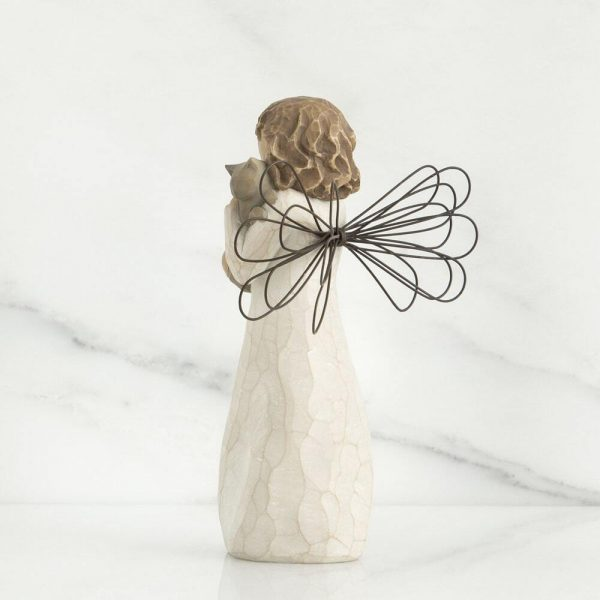 Willlow Tree Figurine With Affection WT26109 Back View