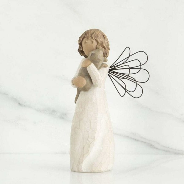 Willlow Tree Figurine With Affection WT26109 Side View
