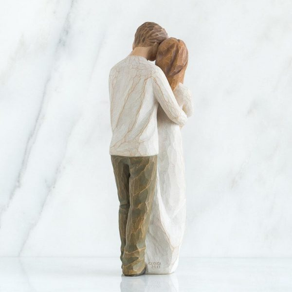 Willow Tree Figurine Together WT26032 Back View