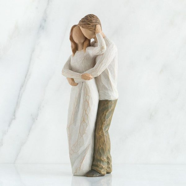 Willow Tree Figurine Together WT26032 Side View 1