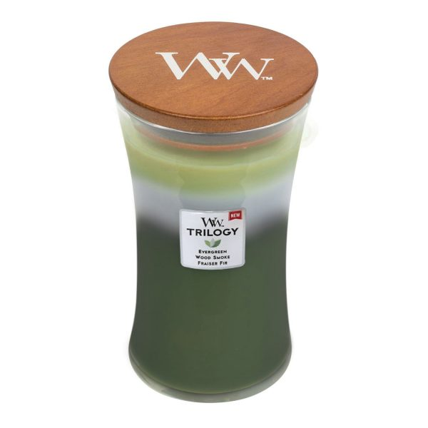 Woodwick Soy Candle Mountain Trail WW93977