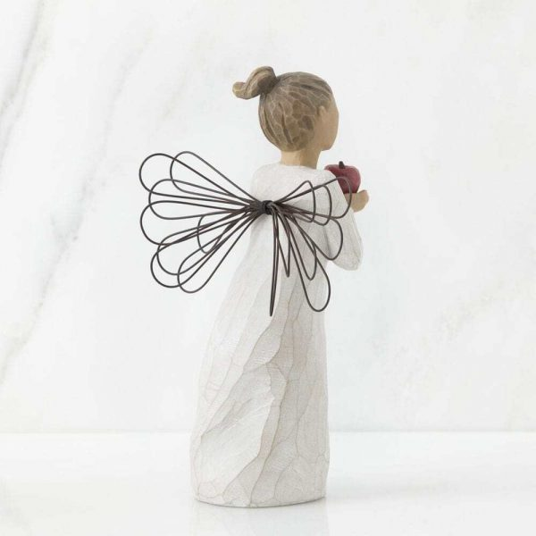 Youre The Best Angel Willow Tree Figurine WT26248 Back View