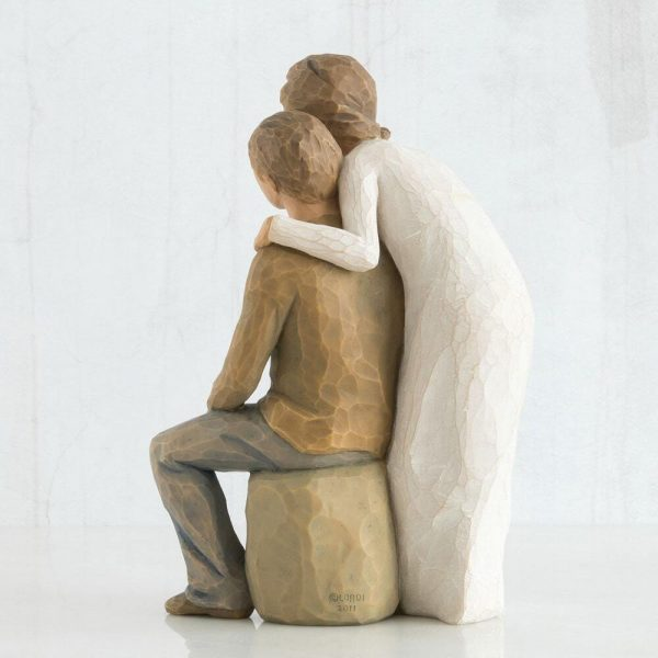 Willow Tree You And Me Figurine Pale Skin Tone WT26439 Back View