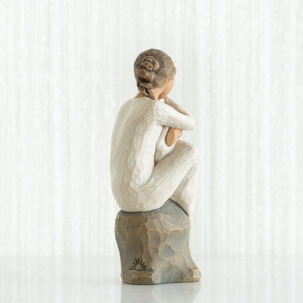 Willow Tree Guardian Figurine Back View