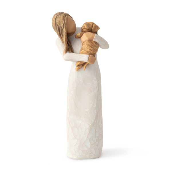 Willow Tree Adorable You Figurine Golden Dog
