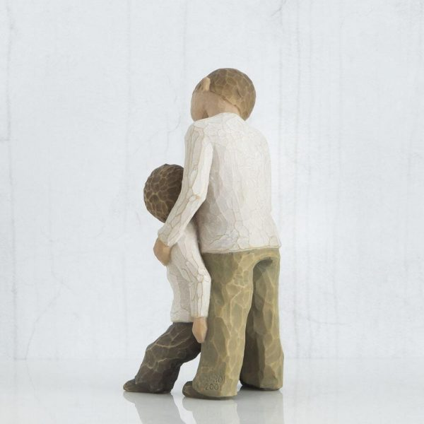 Willow Tree Brothers Figurine back View