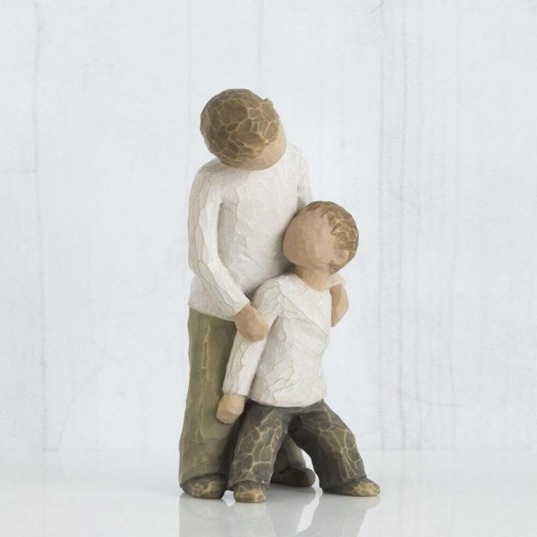 Willow Tree Brothers Figurine WT26056 Right View