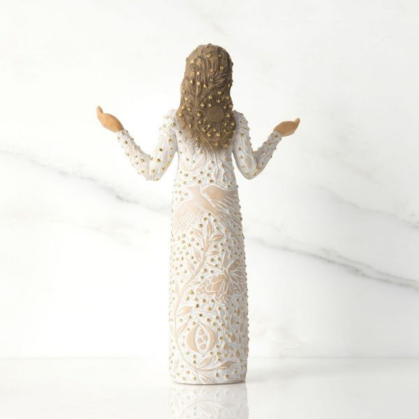 Willow Tree Everyday Blessings Figurine Back View