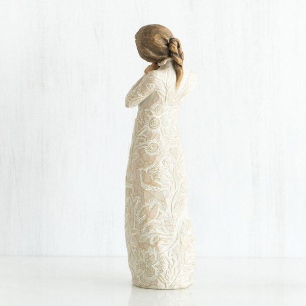 Willow Tree I Love You Figurine Back View