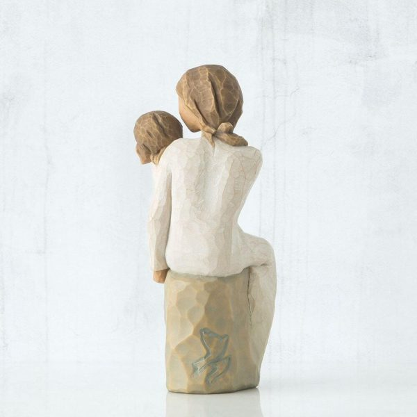 Willow Tree Mother And Daughter Figurine Back View