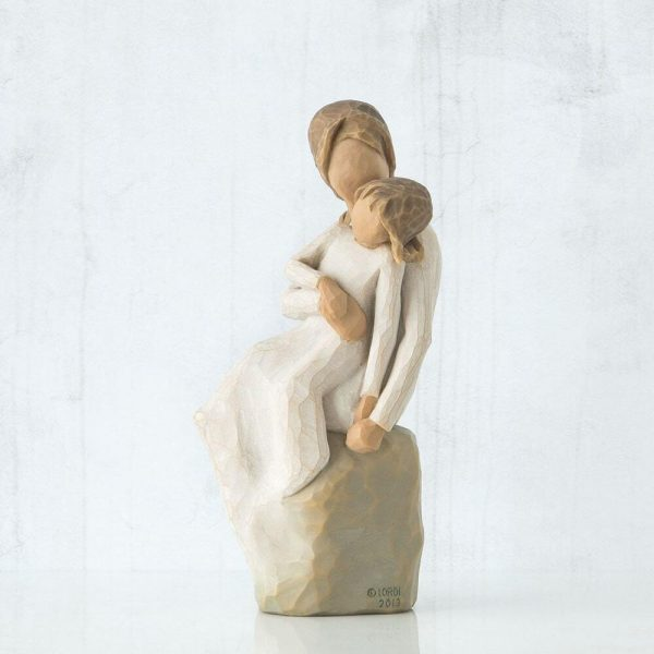 Willow Tree Mother And Daughter Figurine Left View