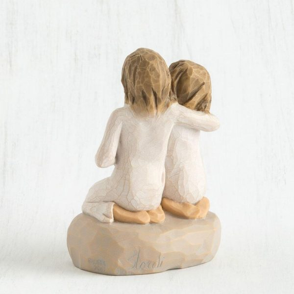 Willow Tree Sister Mine Figurine Back View