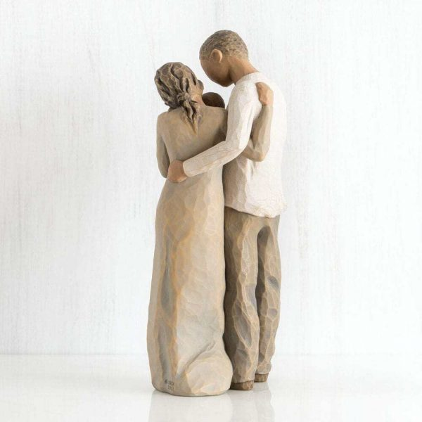 Willow Tree We Are Three Figurine Back View