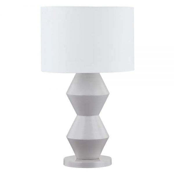 Abstract Table Lamp Grey