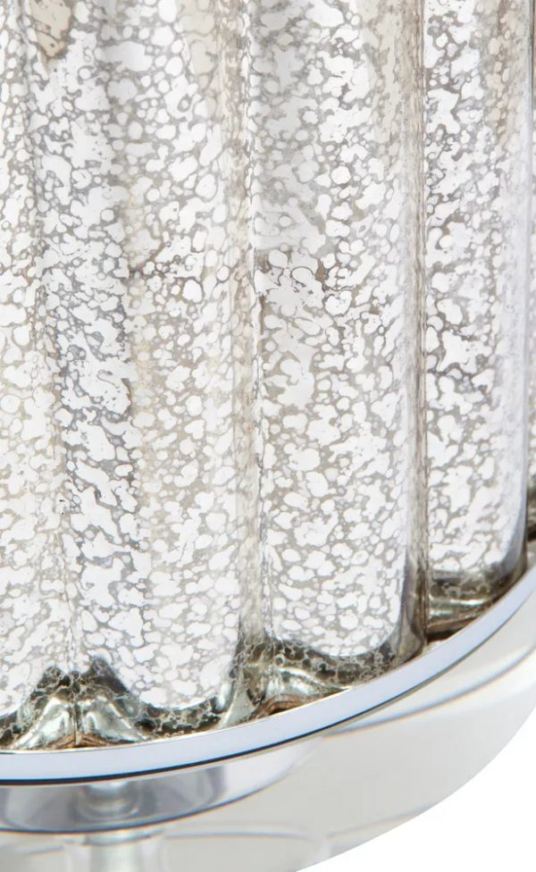 Allure Table Lamp Glass Close Up View Of Base