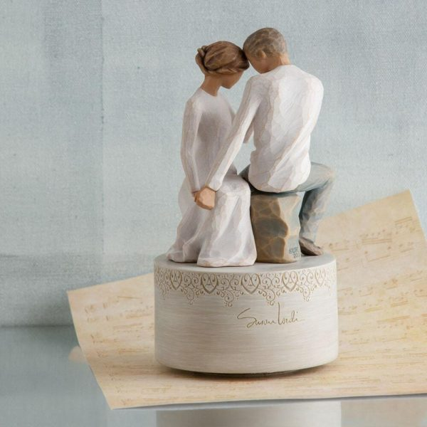 Willow Tree Around You Musical Figurine WT27465 View 3
