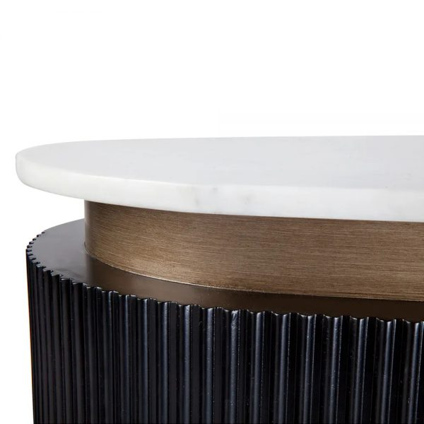 Calile Bar Counter For Home Black Close Up Table Top