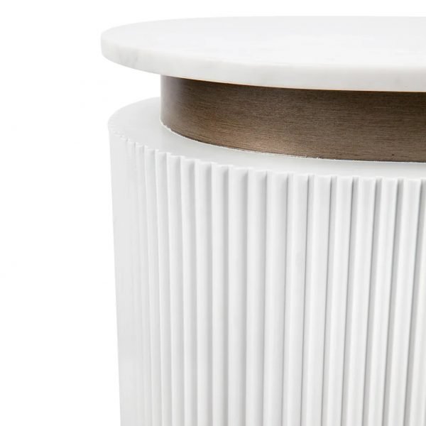 Calile Bar Counter For Home White Close Up Table Top