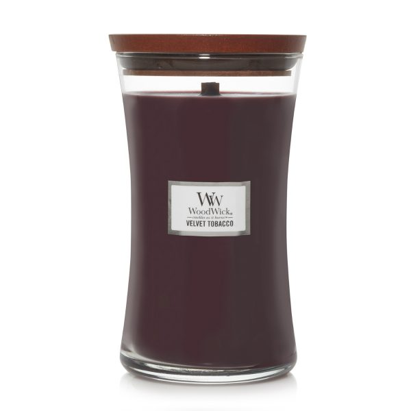WoodWick Velvet Tobacco Soy Candle WW1666270